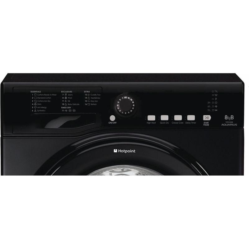 Hotpoint-Dryer-TCFS-835B-GK.9-UK-Black-Control-panel