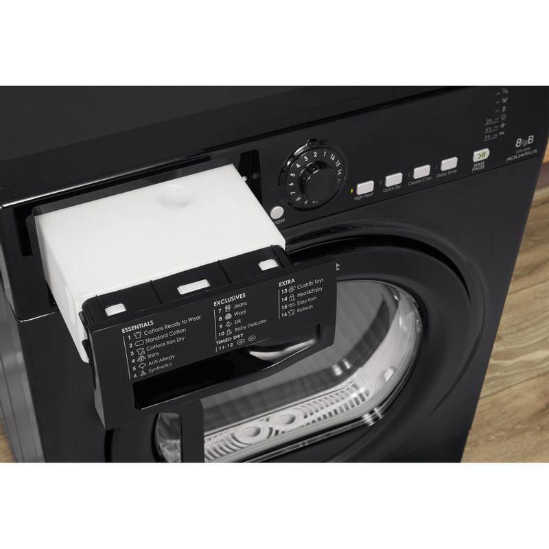Hotpoint-Dryer-TCFS-835B-GK.9-UK-Black-Drawer