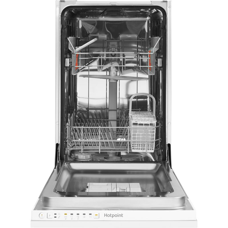 Hotpoint-Dishwasher-Built-in-HSIE-2B19-UK-Full-integrated-A--Frontal_Open