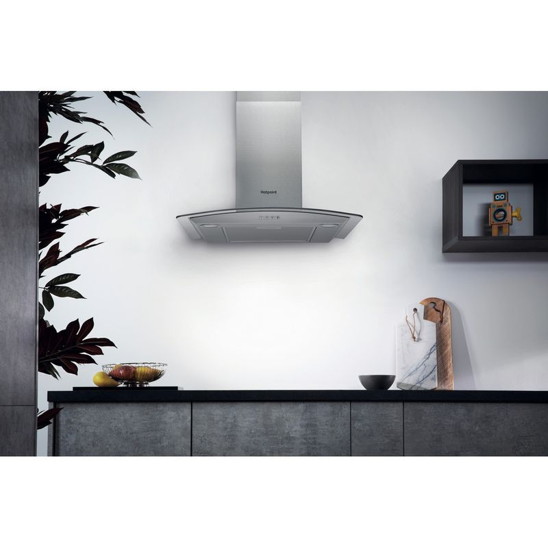 Hotpoint-HOOD-Built-in-PHGC6.4-FLMX-Inox-Wall-mounted-Electronic-Lifestyle_Frontal