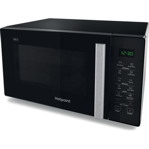 Hotpoint freestanding microwave oven: black