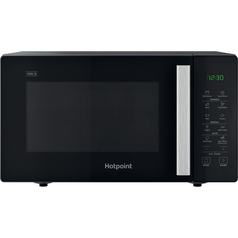 Hotpoint-Microwave-Free-standing-MWH-251-B-Black-Electronic-25-MW-only-900-Frontal