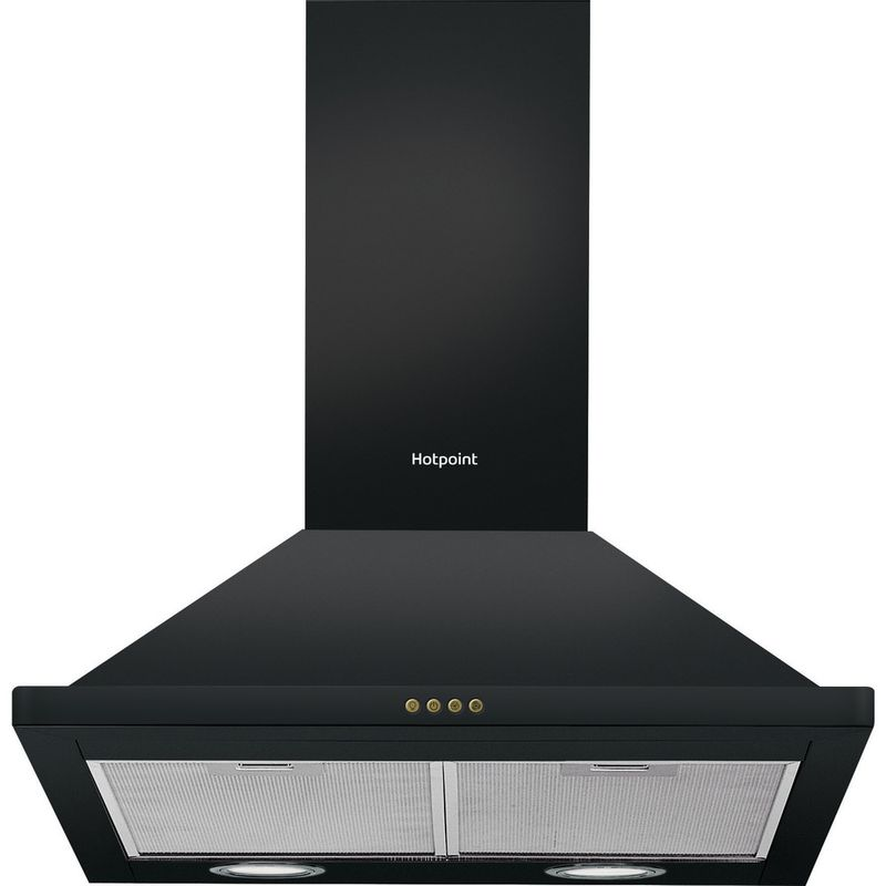 Hotpoint-HOOD-Built-in-PHPN6.4FLMK-Black-Wall-mounted-Mechanical-Frontal