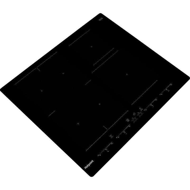 Hotpoint-HOB-ACO-654-NE-Black-Induction-vitroceramic-Perspective