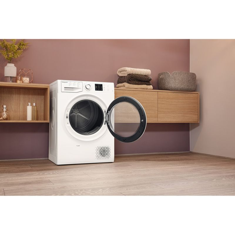 Hotpoint-Dryer-NT-M10-81WK-UK-White-Lifestyle-perspective-open