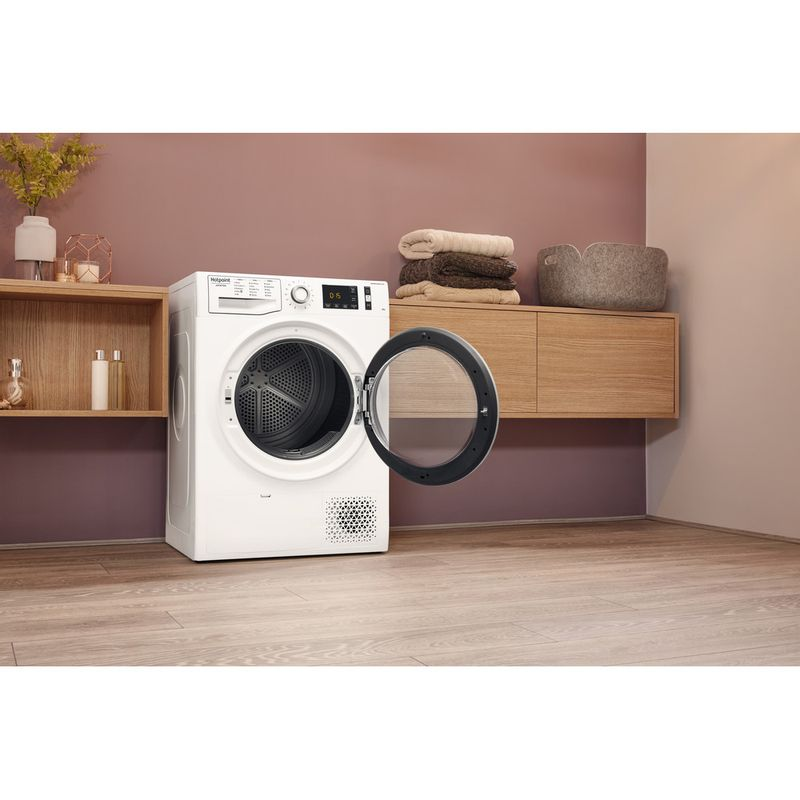 Hotpoint-Dryer-NT-M11-92SK-UK-White-Lifestyle-perspective-open