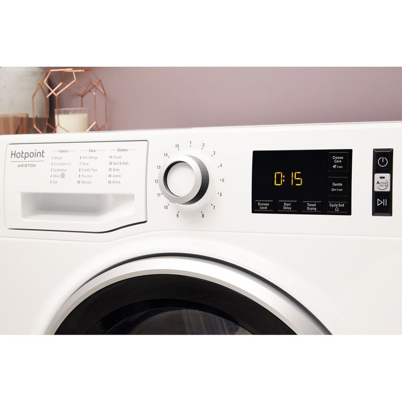 Hotpoint-Dryer-NT-M11-92SK-UK-White-Lifestyle-control-panel