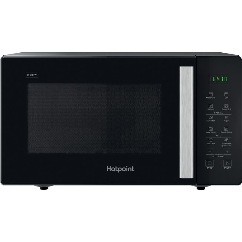 Hotpoint-Microwave-Free-standing-MWH-253-B-Black-Electronic-25-MW-Grill-function-900-Frontal