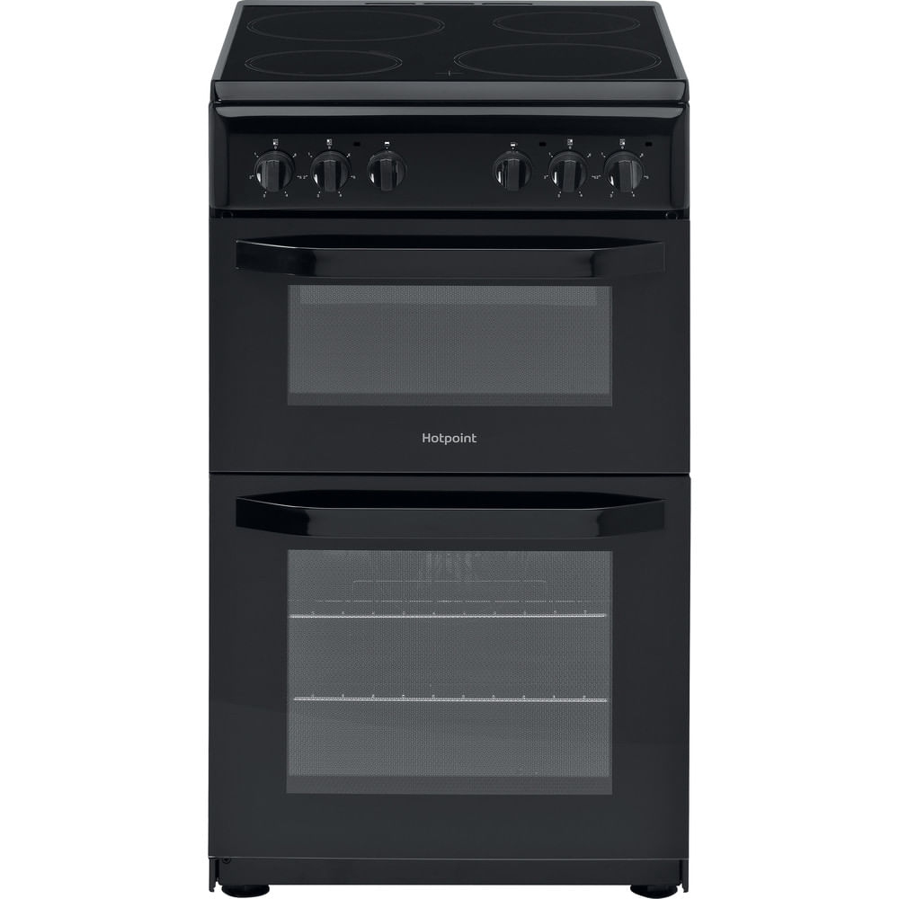 Hotpoint Double Cooker HD5V92KCB/UK : discover the specifications of our home appliances and bring the innovation into your house and family.