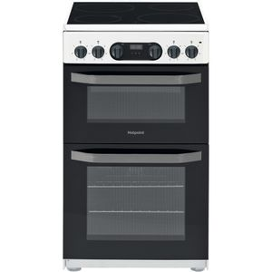 Hotpoint HD5V93CCW/UK Cooker - White