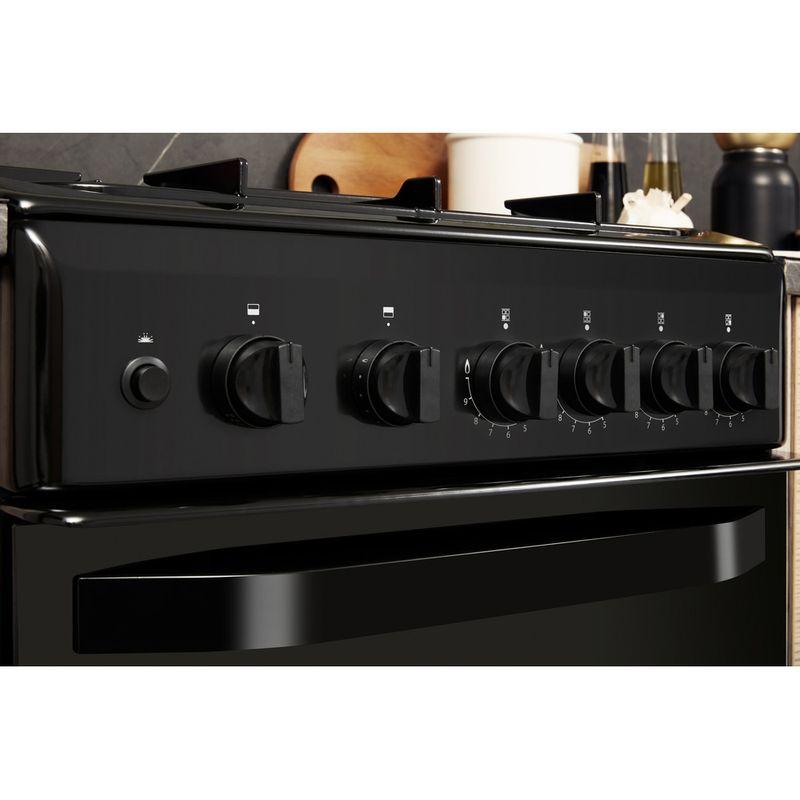 Hotpoint-Double-Cooker-HD5G00KCB-UK-Black-A--Enamelled-Sheetmetal-Lifestyle-control-panel