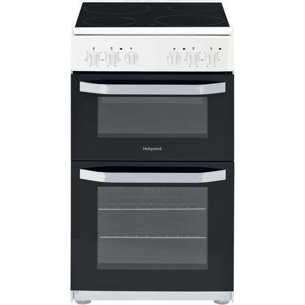 Hotpoint Double Cooker HD5V92KCW/UK : discover the specifications of our home appliances and bring the innovation into your house and family.