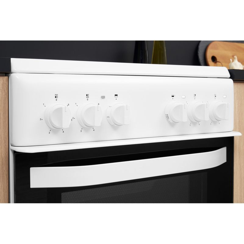 Hotpoint-Double-Cooker-HD5V92KCW-UK-White-A-Vitroceramic-Lifestyle-control-panel