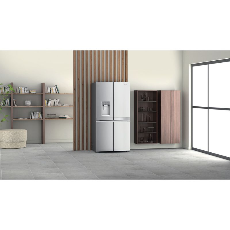 Hotpoint-Side-by-Side-Free-standing-HQ9I-MO1L-UK-Inox-Look-Lifestyle-perspective