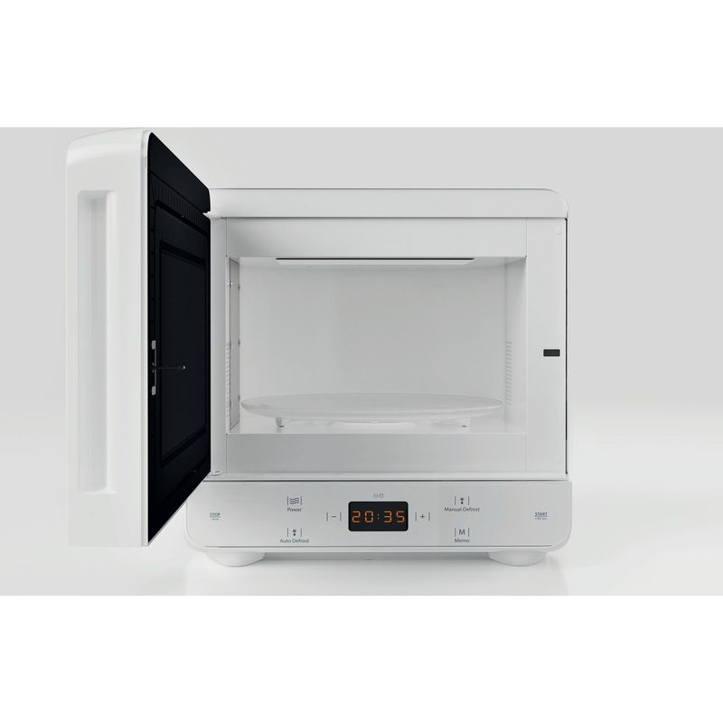 Hotpoint-Microwave-Free-standing-MWH-1331-FW-White-Electronic-13-MW-only-700-Frontal_Open