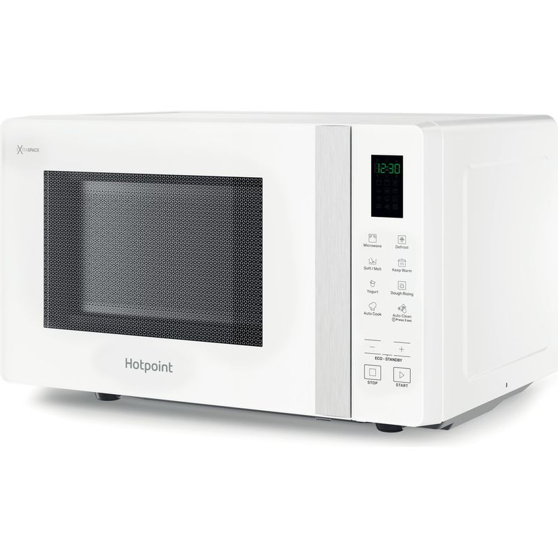 Hotpoint-Microwave-Free-standing-MWHF-201-W-White-Electronic-20-MW-only-800-Perspective