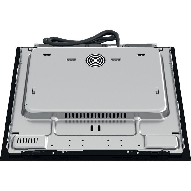 Hotpoint-HOB-TS-9960C-BF-Black-Induction-vitroceramic-Back---Lateral