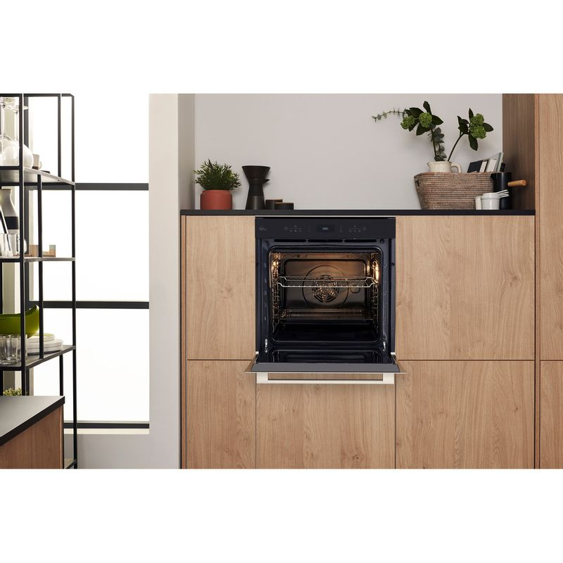 Hotpoint-OVEN-Built-in-SI9-S8C1-SH-IX-H-Electric-A--Lifestyle-frontal-open