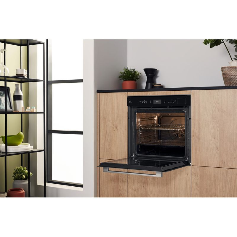 Hotpoint-OVEN-Built-in-SI9-S8C1-SH-IX-H-Electric-A--Lifestyle-perspective-open