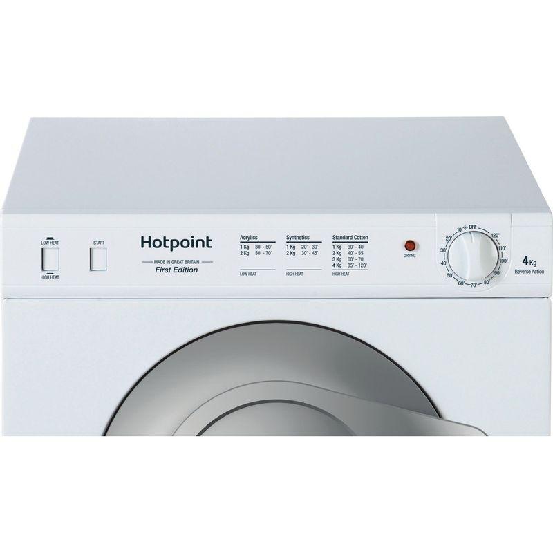Hotpoint-Dryer-NV4D-01-P--UK--White-Control-panel