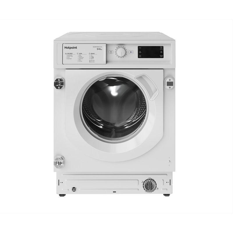 Hotpoint-Washer-dryer-Built-in-BI-WDHG-961484-UK-White-Front-loader-Frontal