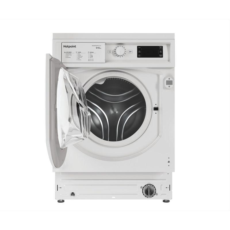 Hotpoint-Washer-dryer-Built-in-BI-WDHG-961484-UK-White-Front-loader-Frontal-open