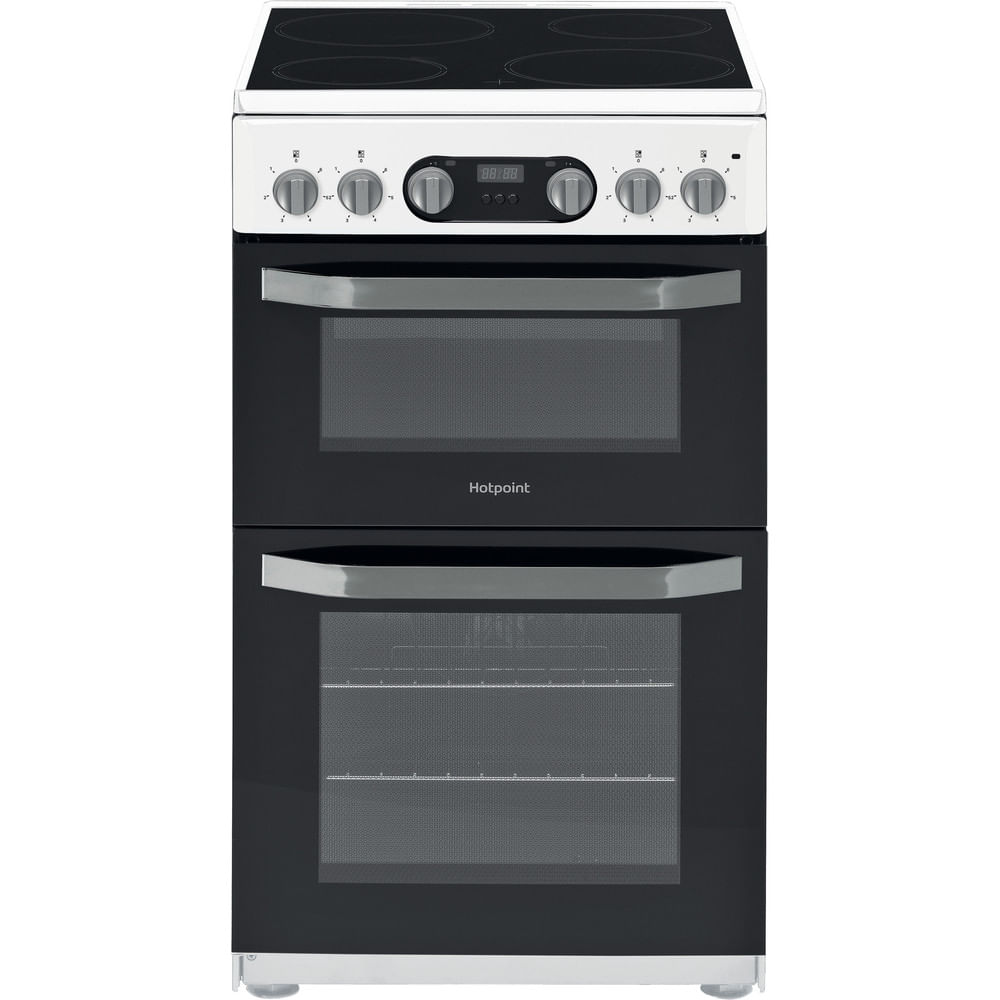 Hotpoint Double Cooker HD5V93CCW/UK : discover the specifications of our home appliances and bring the innovation into your house and family.