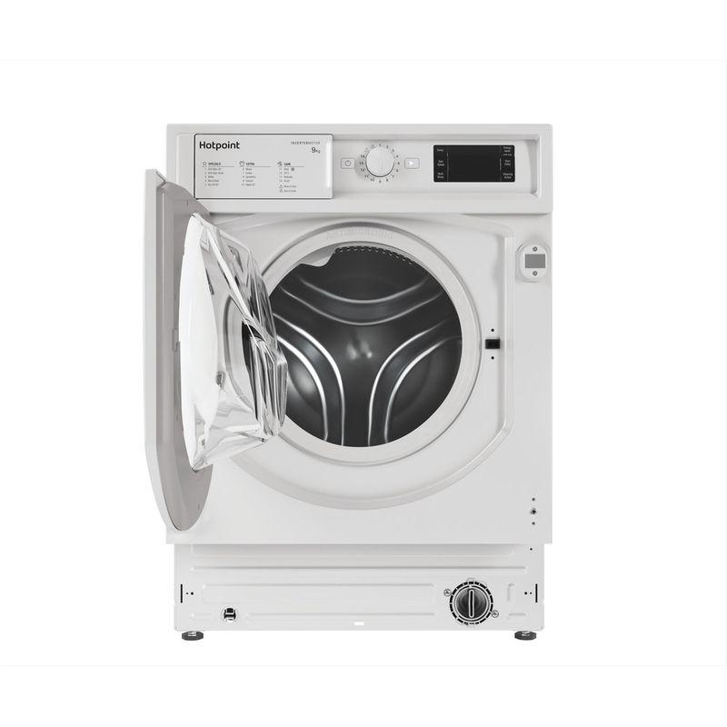 Hotpoint-Washing-machine-Built-in-BI-WMHG-91484-UK-White-Front-loader-C-Frontal-open