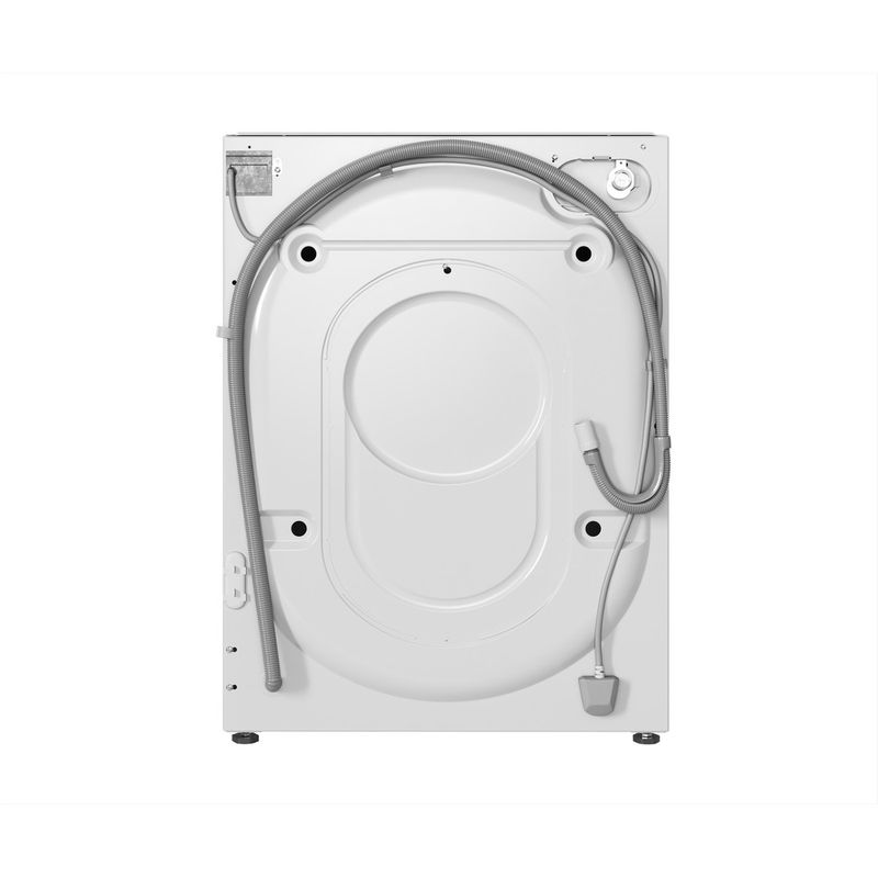 Hotpoint-Washing-machine-Built-in-BI-WMHG-91484-UK-White-Front-loader-C-Back---Lateral