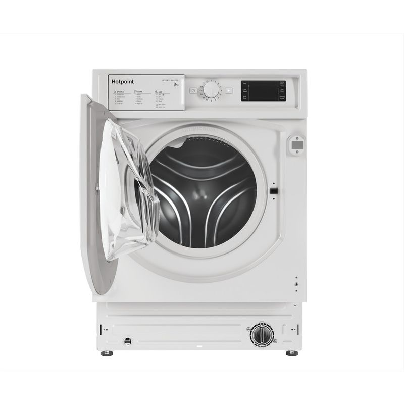 Hotpoint-Washing-machine-Built-in-BI-WMHG-81484-UK-White-Front-loader-C-Frontal-open