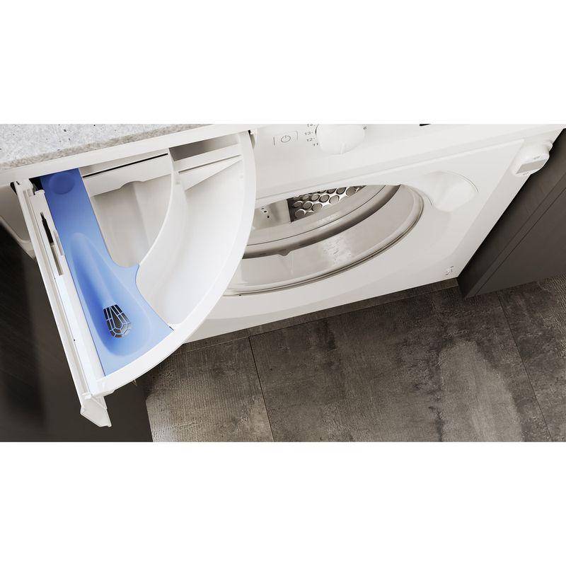Hotpoint-Washing-machine-Built-in-BI-WMHG-81484-UK-White-Front-loader-C-Drawer