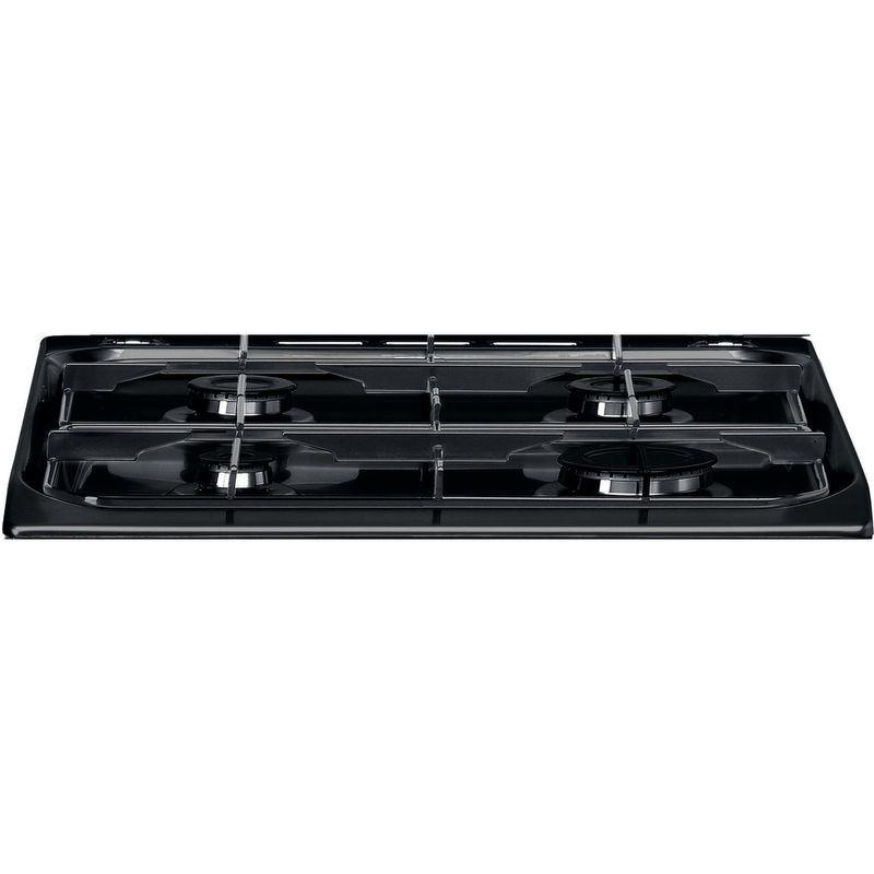 Hotpoint-Double-Cooker-HD5G00CCBK-UK-Black-A--Enamelled-Sheetmetal-Heating-element
