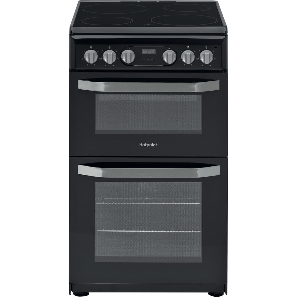 Hotpoint Double Cooker HD5V93CCB/UK : discover the specifications of our home appliances and bring the innovation into your house and family.