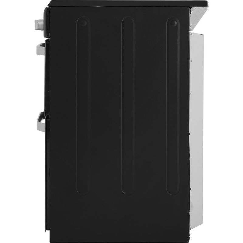 Hotpoint-Double-Cooker-HD5V93CCB-UK-White-A-Enamelled-Sheetmetal-Back---Lateral