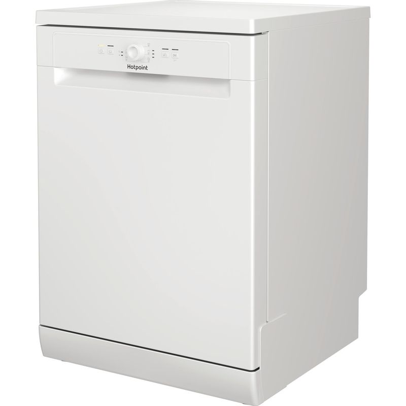 Hotpoint-Dishwasher-Free-standing-HFE-1B19-UK-Free-standing-F-Perspective