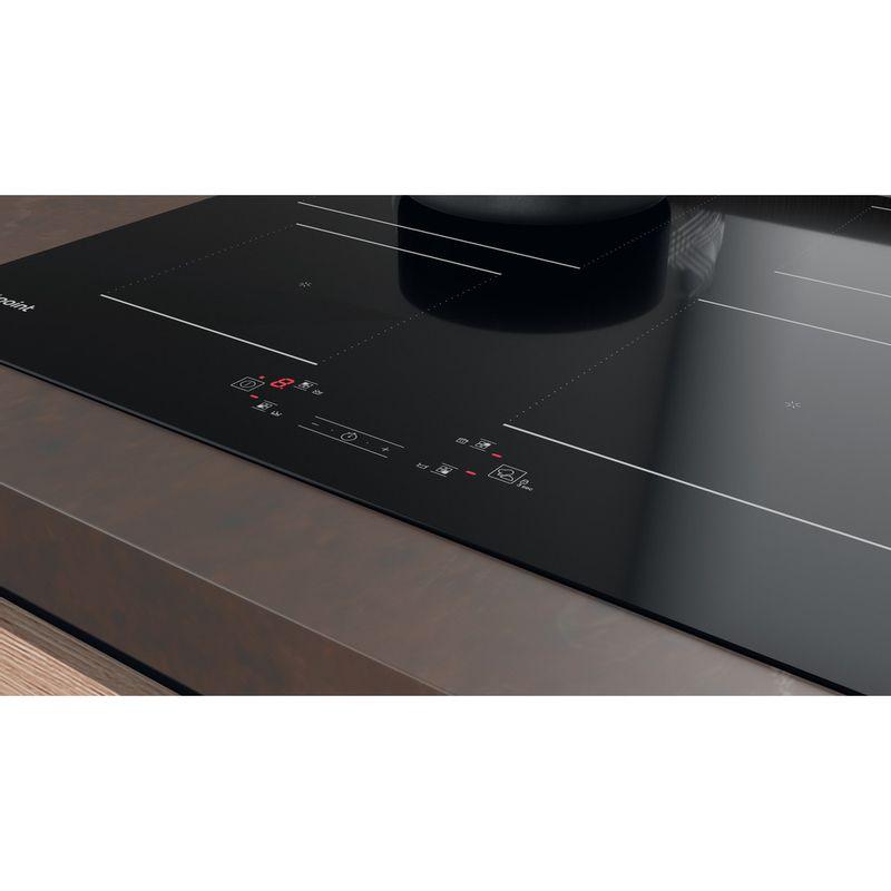 Hotpoint-HOB-TQ-1460S-NE-Black-Induction-vitroceramic-Lifestyle-control-panel