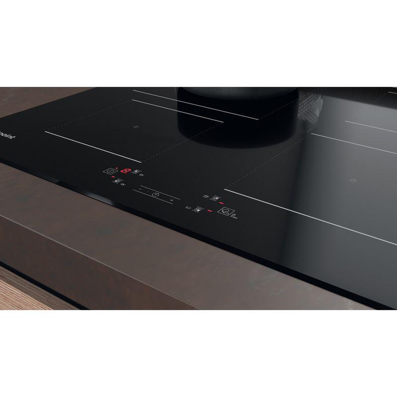 Hotpoint-HOB-TQ-4160S-BF-Black-Induction-vitroceramic-Lifestyle-control-panel