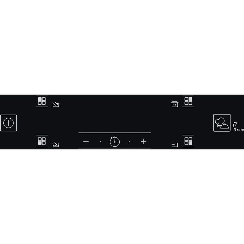 Hotpoint-HOB-TQ-4160S-BF-Black-Induction-vitroceramic-Control-panel