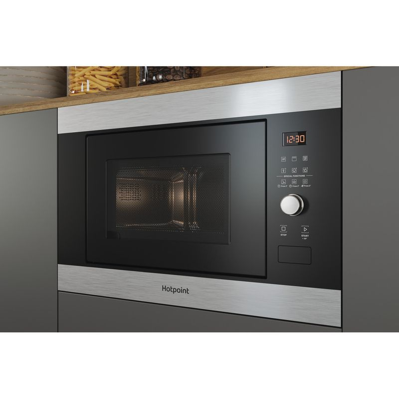 Hotpoint-Microwave-Built-in-MF25G-IX-H-Inox-Electronic-25-MW-Grill-function-900-Lifestyle-perspective