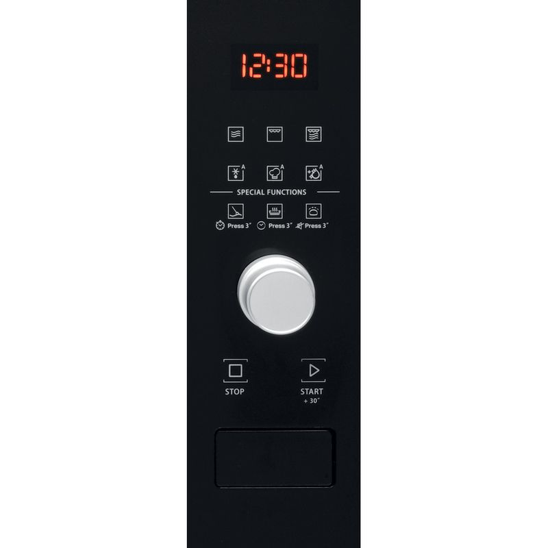 Hotpoint-Microwave-Built-in-MF25G-IX-H-Inox-Electronic-25-MW-Grill-function-900-Control-panel