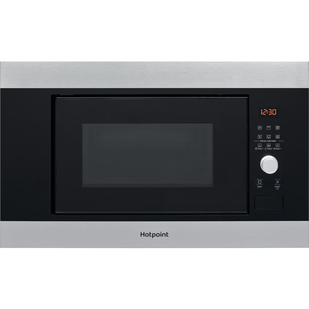 Hotpoint Built in Microwave oven MF20G IX H : discover the specifications of our home appliances and bring the innovation into your house and family.