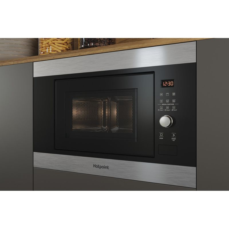 Hotpoint-Microwave-Built-in-MF20G-IX-H-Inox-Electronic-20-MW-Grill-function-800-Lifestyle-perspective