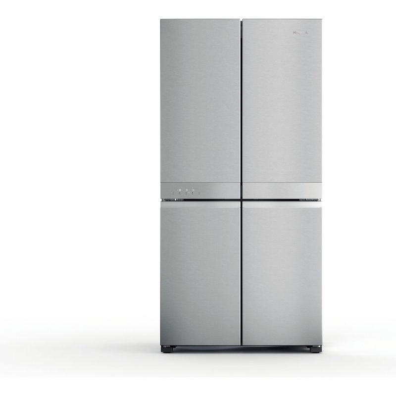 Hotpoint-Side-by-Side-Free-standing-HQ9-M2L-UK-Inox-Look-Frontal