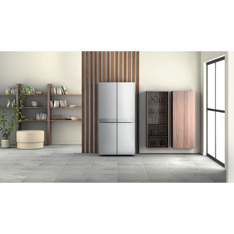Hotpoint-Side-by-Side-Free-standing-HQ9-M2L-UK-Inox-Look-Lifestyle-frontal