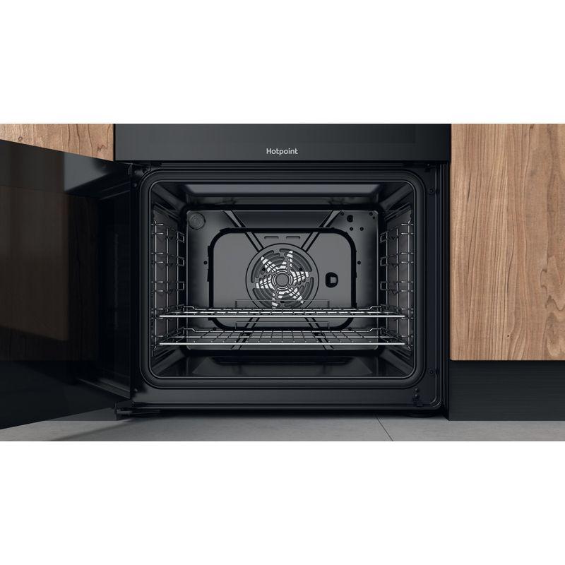 Hotpoint-Double-Cooker-HDT67V9H2CB-UK-Black-A-Cavity