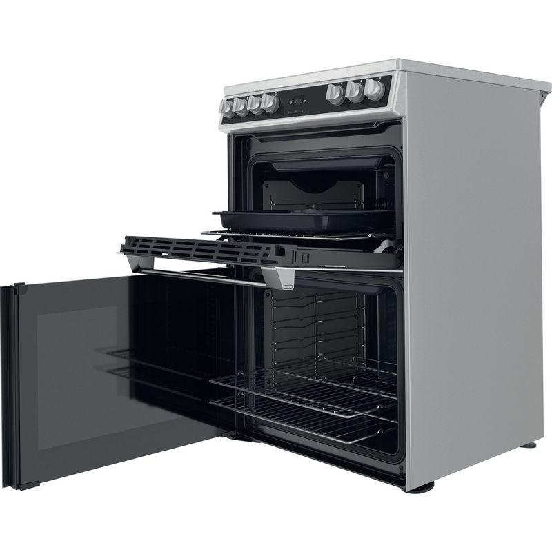 Hotpoint-Double-Cooker-HDT67V9H2CX-UK-Inox-A-Perspective-open