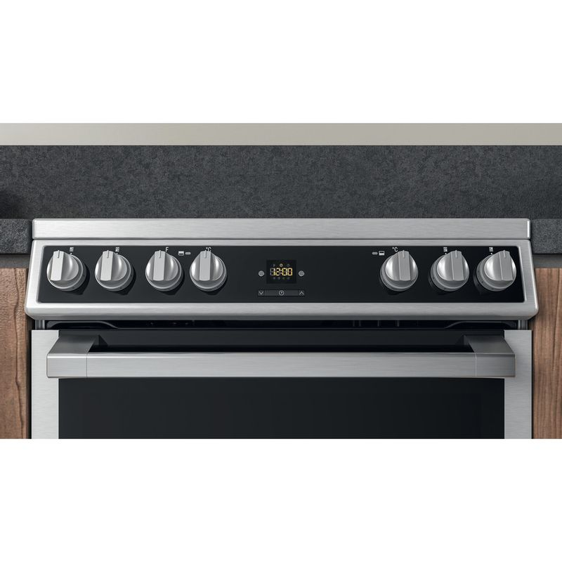 Hotpoint-Double-Cooker-HDT67V9H2CX-UK-Inox-A-Lifestyle-control-panel