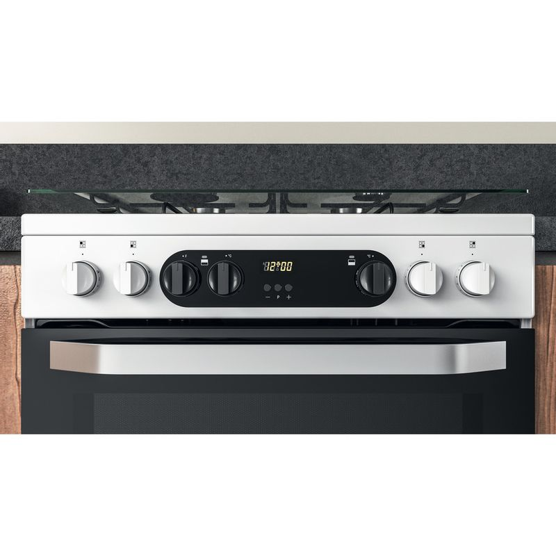 Hotpoint-Double-Cooker-HDM67G9C2CW-UK-White-A-Lifestyle-control-panel