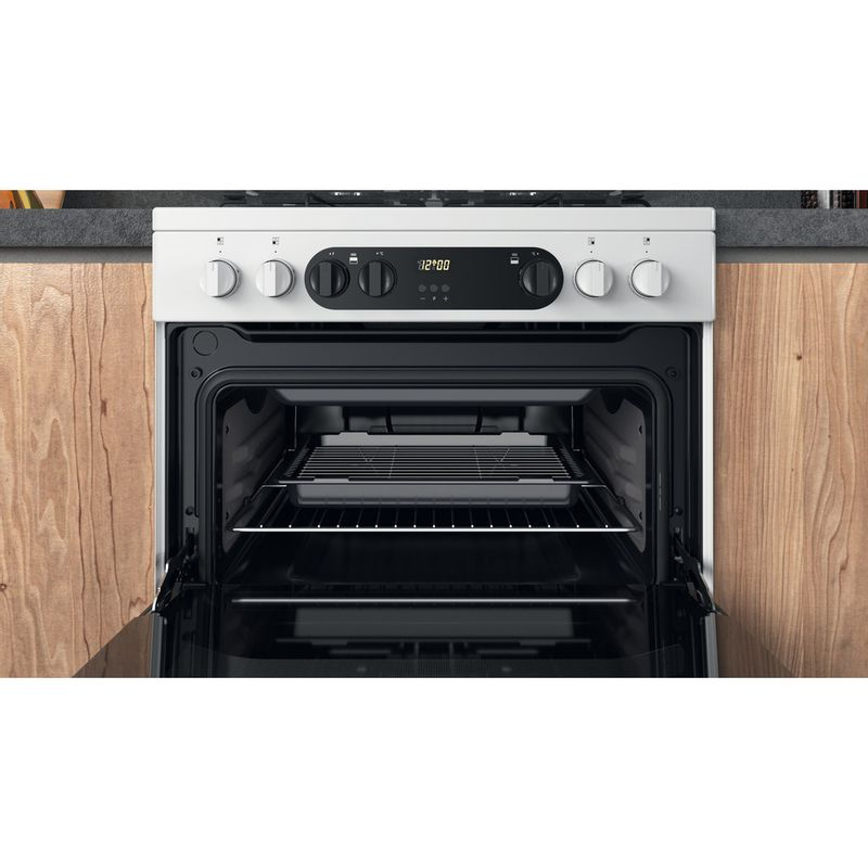 Hotpoint-Double-Cooker-HDM67G9C2CW-UK-White-A-Cavity