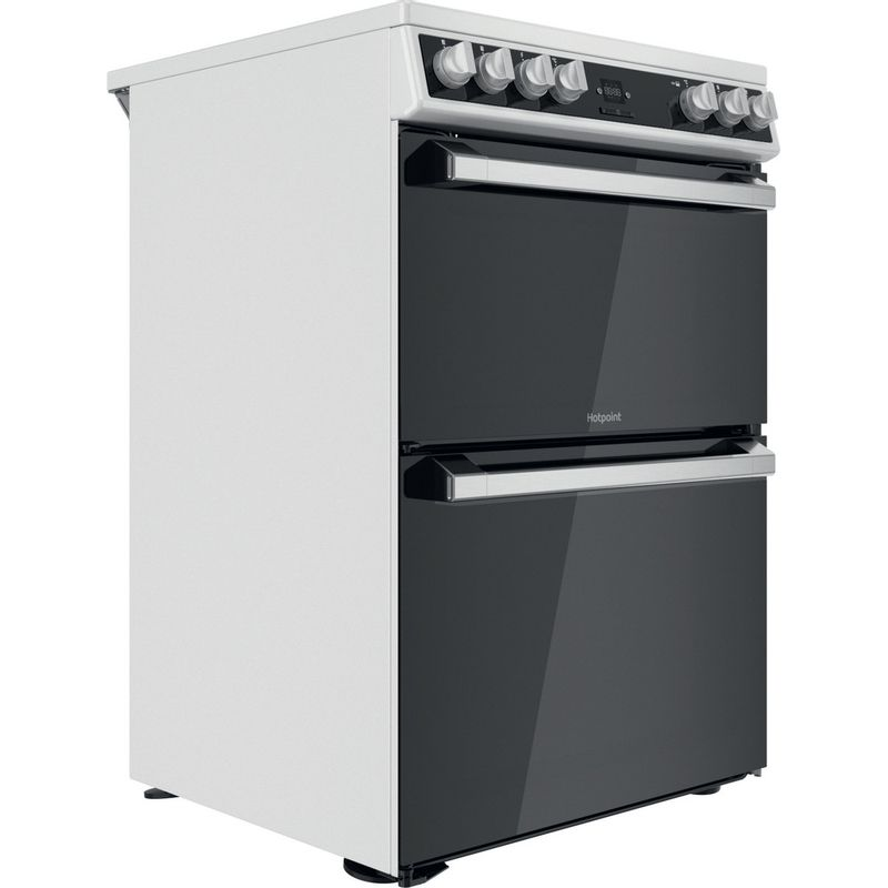 Hotpoint-Double-Cooker-HDT67V9H2CW-UK-White-A-Perspective